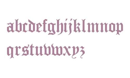 True Gothic Cyr