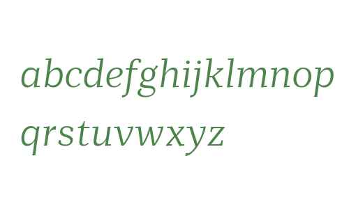 Mediator Serif Web Light Italic