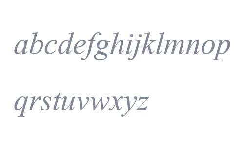 Angsana New Italic V1