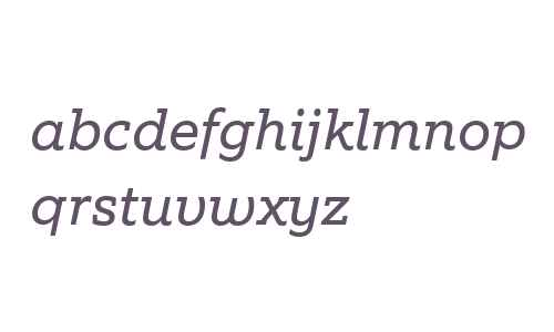 EquipSlab W03 Italic