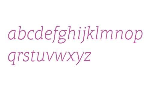 Aptifer Slab LT W04 Thin Italic