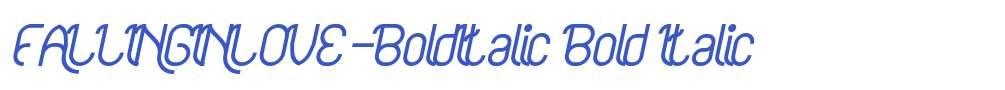FALLINGINLOVE-BoldItalic