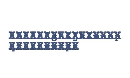 JMH Typewriter mono Black Cross Regular