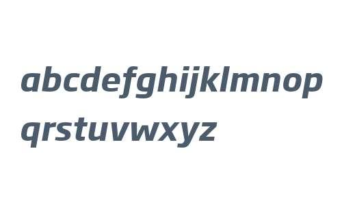 Soho Gothic W04 Bold Italic