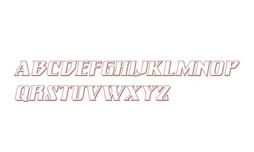Eternal Knight 3D Italic