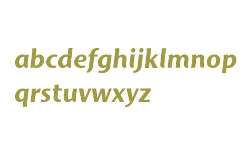 Mosquito Std Bold Italic