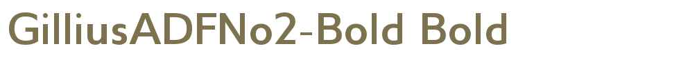GilliusADFNo2-Bold