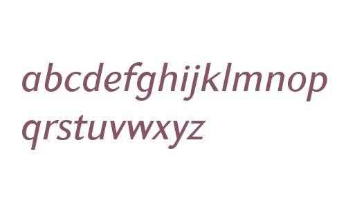 GHEA Koryun W01 Medium Italic