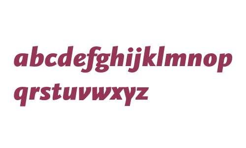 Scala Sans-Black Italic