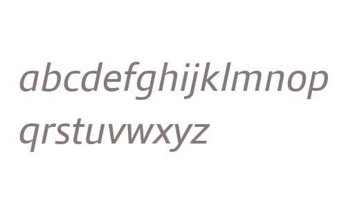 Qubo W03 Italic