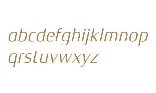 Xenois Semi W04 Italic