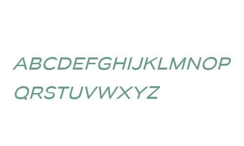 Biondi Sans W00 Book Italic