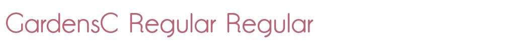GardensC Regular
