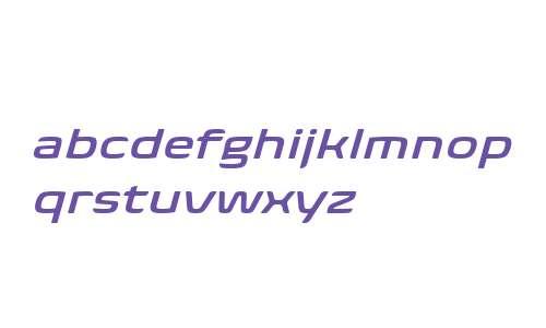 Biome W04 Semi Bold Wide Italic