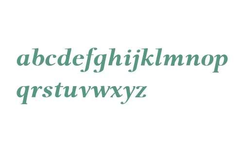 P22 Foxtrot W01 Bold Italic