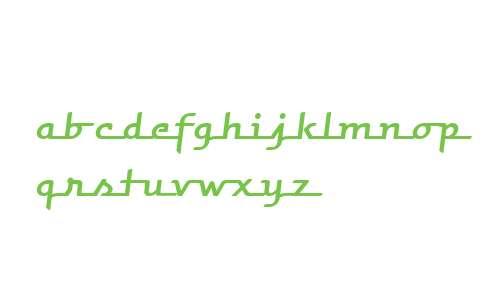 HooptieScript-Italic