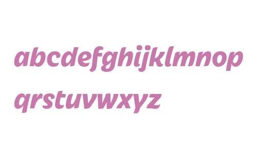 Iskra W01 Ultra Bold Italic