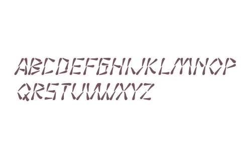 SF Wasabi Italic V1 V2