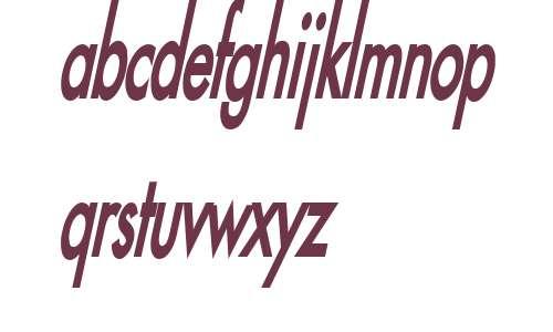 Fusi Thin Bold Italic