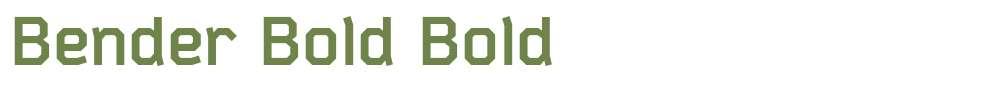 Bender Bold