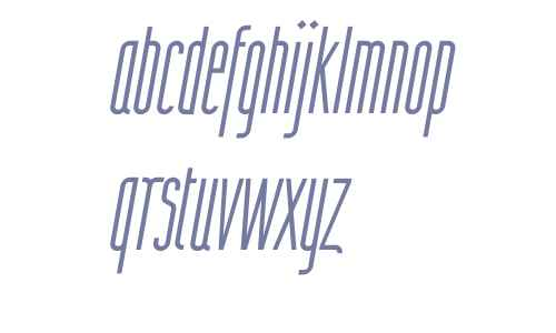 Wurz UP W00 Thin Italic