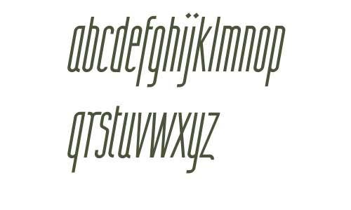Wurz UP W00 Thin Italic