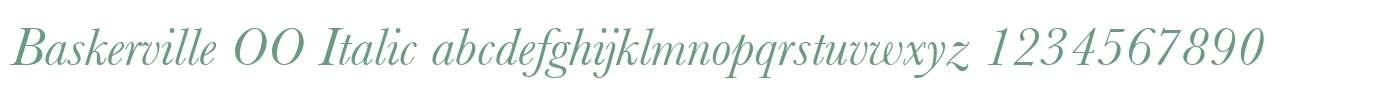 Baskerville OO Italic