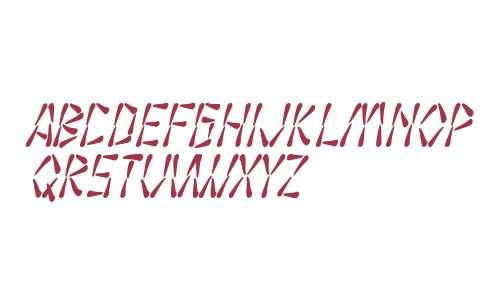 SF Wasabi Condensed Italic V2 V2