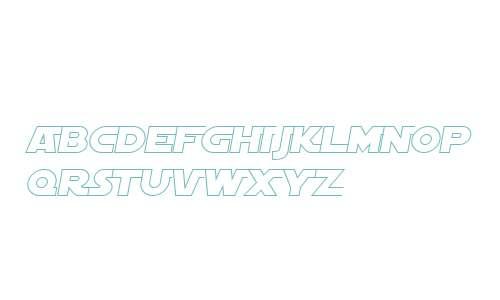 SF Distant Galaxy AltOutline Italic V1 V1