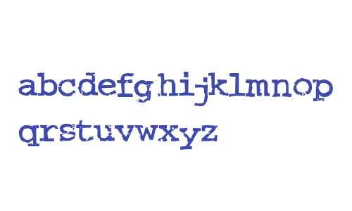 Crud Font