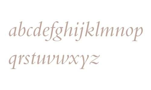 BemboStd-Italic