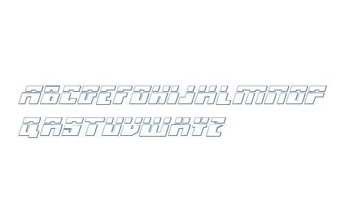 Micronian Laser 3D Italic