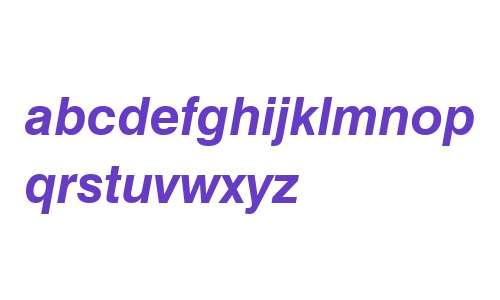 Swis721 BT Bold Italic