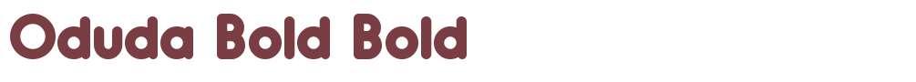 Oduda Bold
