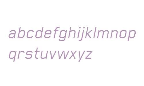 Blender Book Italic Italic