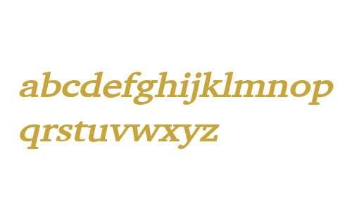 Challenge Wide Bold Italic