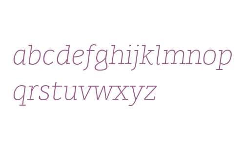 Karlo Serif W00 Light Italic