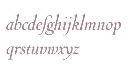 Throhand W01 Ink Italic