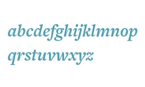 FreightText W03 Bold Italic