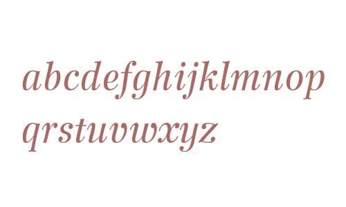 Wilke 56 Italic