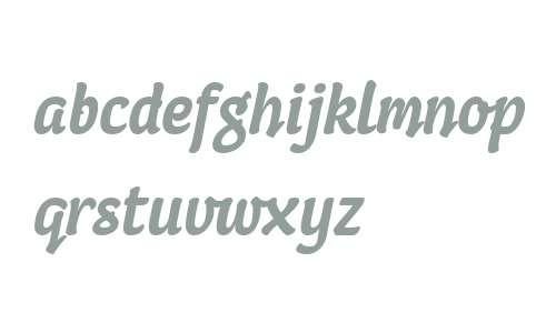 Coomeec W04 Bold Italic