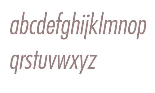 FuturaStd-CondensedLightObl