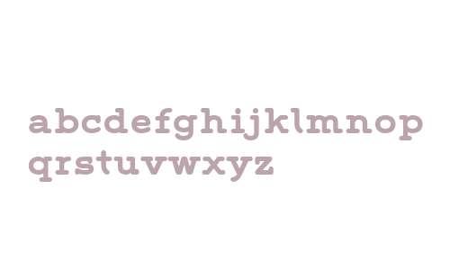 Grover Slab W01 Bold