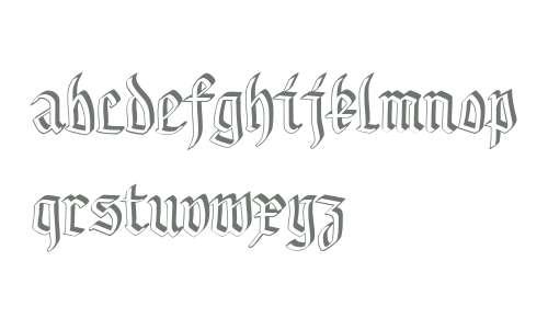 GothamburgShadowed W00 Regular