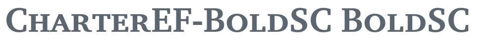 CharterEF-BoldSC