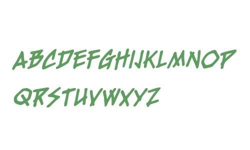 FreshMeat BB Bold Italic