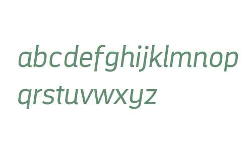 DarwinAltOffice W00 Italic
