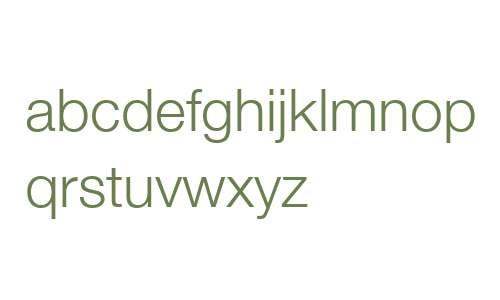 Helvetica Neue LT W06 45 Light