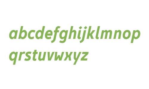 Egon Sans Condensed W01 Bd It