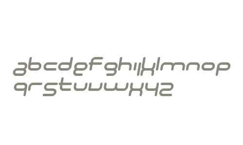 SF Technodelight NS Italic V2 V2
